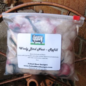 Wooly Bird Nest Refill